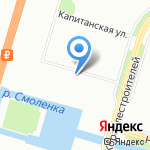 Неглиже на карте Санкт-Петербурга