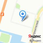 Светоч на карте Санкт-Петербурга