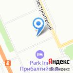 Магазин молочной продукции и мороженого на карте Санкт-Петербурга