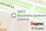Схема проезда до компании Лекрус в Санкт-Петербурге