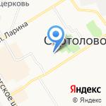 Бамбино Кидс на карте Санкт-Петербурга