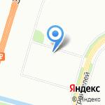 Солнце на карте Санкт-Петербурга