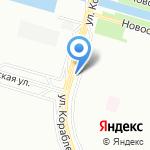 Магазин молочной продукции и колбасных изделий на карте Санкт-Петербурга