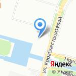 СервисГараж на карте Санкт-Петербурга