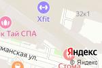 Схема проезда до компании Offside в Санкт-Петербурге