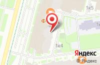 Схема проезда до компании Clever в Санкт-Петербурге
