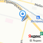 ПерсонИТ на карте Санкт-Петербурга