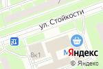 Схема проезда до компании НеваСтрой в Санкт-Петербурге