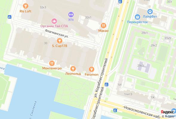продажа квартир Морской Каскад