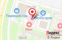 Схема проезда до компании Навигатор в Санкт-Петербурге