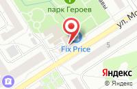 Схема проезда до компании Студия красоты Елены Скворцовой в Сертолово