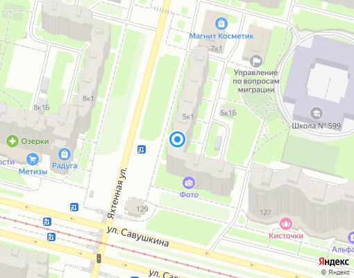 Жилищно-строительный кооператив «ЖСК1320» на карте Санкт-Петербурга
