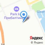Альфа на карте Санкт-Петербурга