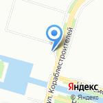 Южный Проектный Институт на карте Санкт-Петербурга