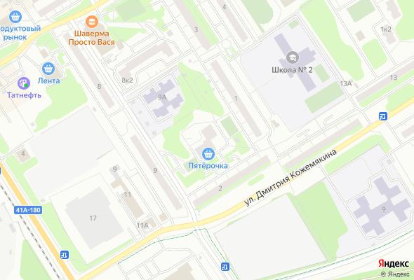 жилой комплекс Дом на ул. Молодцова