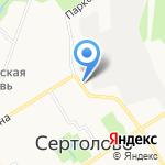 Натали на карте Санкт-Петербурга