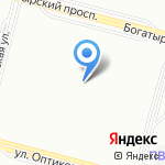 Студия гимнастики и танца Анны Серовой на карте Санкт-Петербурга