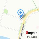 Бюргер на карте Санкт-Петербурга