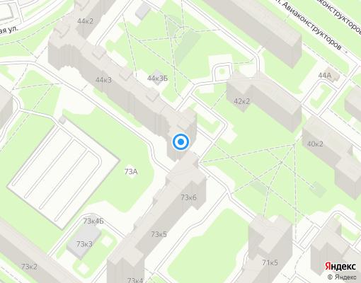 Жилищно-строительный кооператив «Каменка» на карте Санкт-Петербурга