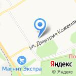 Классика на карте Санкт-Петербурга