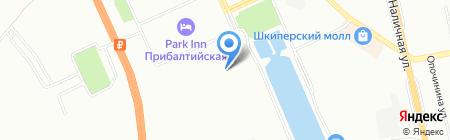 Домен на карте Санкт-Петербурга