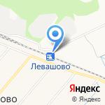 Левашово на карте Санкт-Петербурга