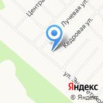 Сияние на карте Санкт-Петербурга