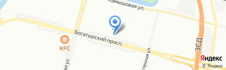 Гейзер на карте Санкт-Петербурга