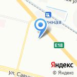 Детский сад №75 на карте Санкт-Петербурга