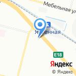 Магазин верхней одежды на карте Санкт-Петербурга
