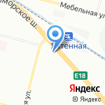 Магазин женского трикотажа на карте Санкт-Петербурга
