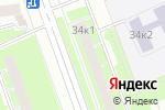 Схема проезда до компании Настоящий вологодский продукт в Санкт-Петербурге