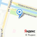 Кукольный Дом на карте Санкт-Петербурга