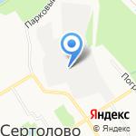 Сервис Бест на карте Санкт-Петербурга