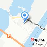 Романтик на карте Санкт-Петербурга