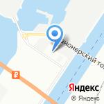 Производственный комбинат на карте Санкт-Петербурга
