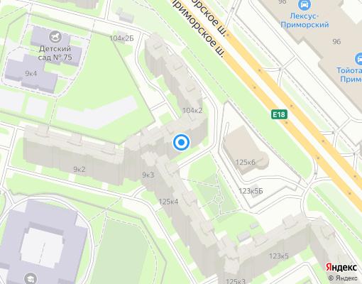 Жилищно-строительный кооператив «жск 1321» на карте Санкт-Петербурга
