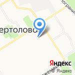 Сертоловская общеобразовательная школа с углубленным изучением отдельных предметов №2 на карте Санкт-Петербурга
