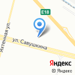 33-й зуб на карте Санкт-Петербурга