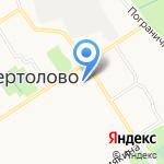 Латте на карте Санкт-Петербурга
