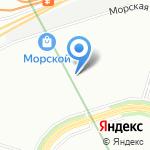 Васильевский на карте Санкт-Петербурга
