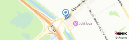 Встреча на карте Санкт-Петербурга