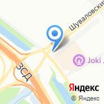 Автосервис на карте Санкт-Петербурга