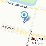 Реверанс на карте Санкт-Петербурга