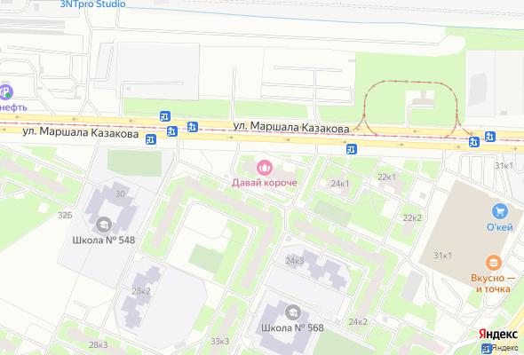 ЖК Маршала Казакова пр., д.26