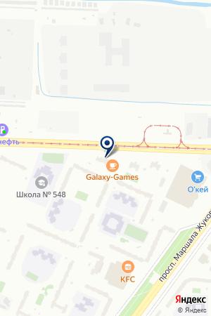 Центр оценки и экспертизы на карте Санкт-Петербурга