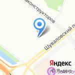 Детский сад №67 на карте Санкт-Петербурга