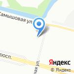 Квалис на карте Санкт-Петербурга