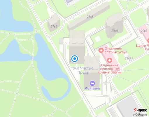 Управляющая компания «ЖЭС Чистые пруды» на карте Санкт-Петербурга