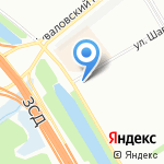 Glos на карте Санкт-Петербурга